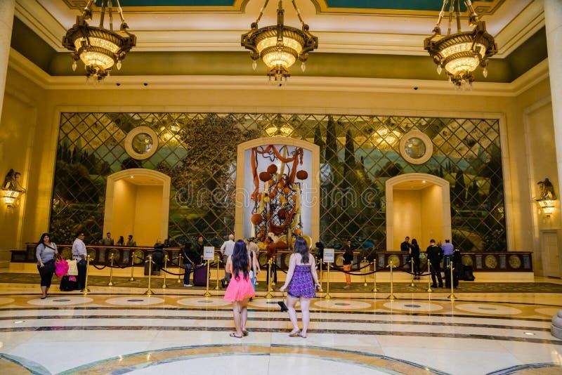 Download Palazzo旅馆大厅 编辑类库存图片. 图片 包括有 游人, 维加斯, 手段, 娱乐场, 前面, 大厅 - 62534759
