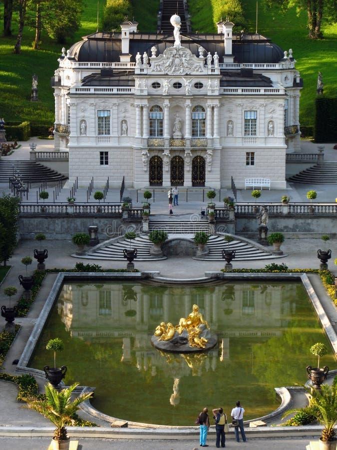 Palazzo 02, Germania di Linderhof immagini stock libere da diritti