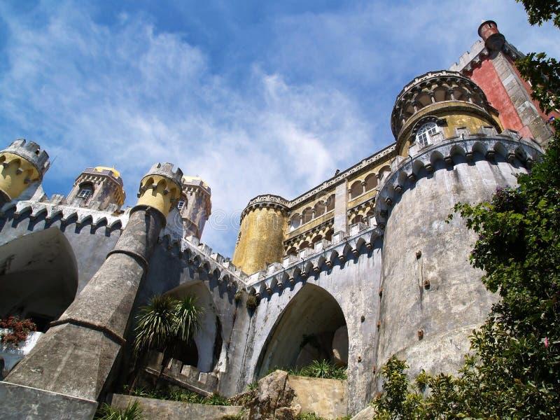 Palazzo 3 di Sintra di Fairy-tale fotografia stock