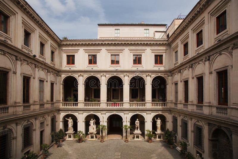Palazzo Altemps fotografía de archivo libre de regalías