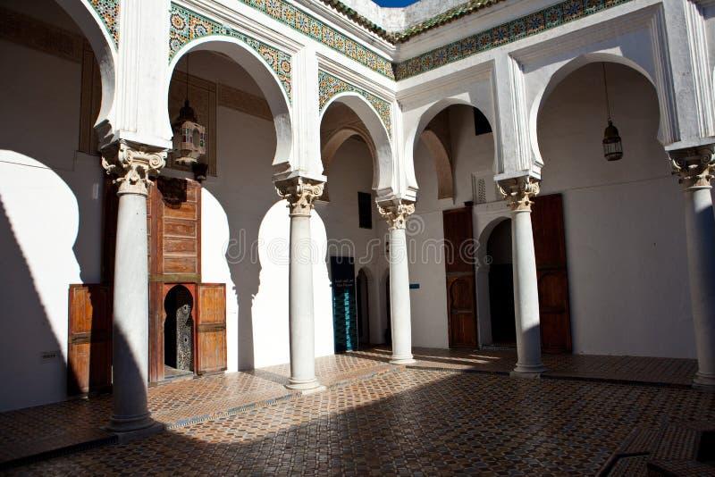Palazzo antico a Tangeri immagini stock libere da diritti