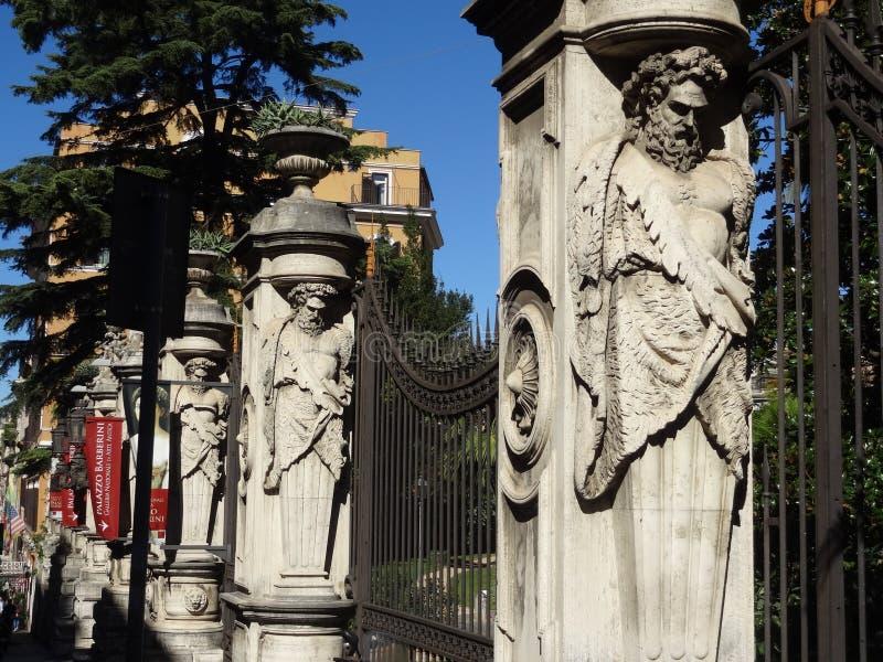 Palazzo Barberini w Rzym Włochy fotografia royalty free