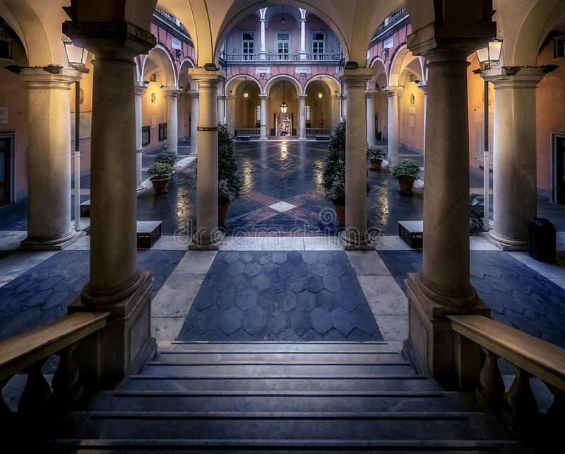 Palazzo Bianco στοκ φωτογραφίες με δικαίωμα ελεύθερης χρήσης