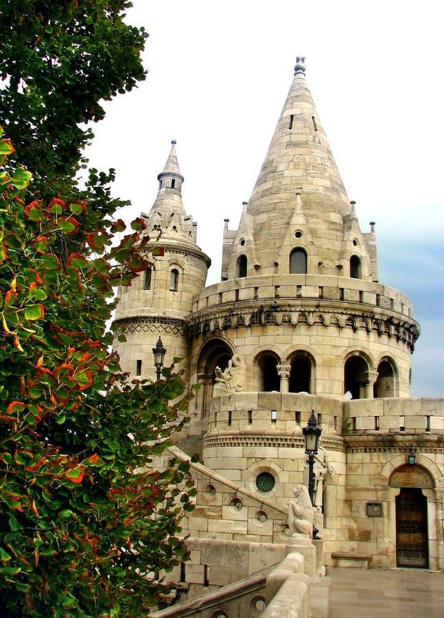 Palazzo a Budapest immagine stock