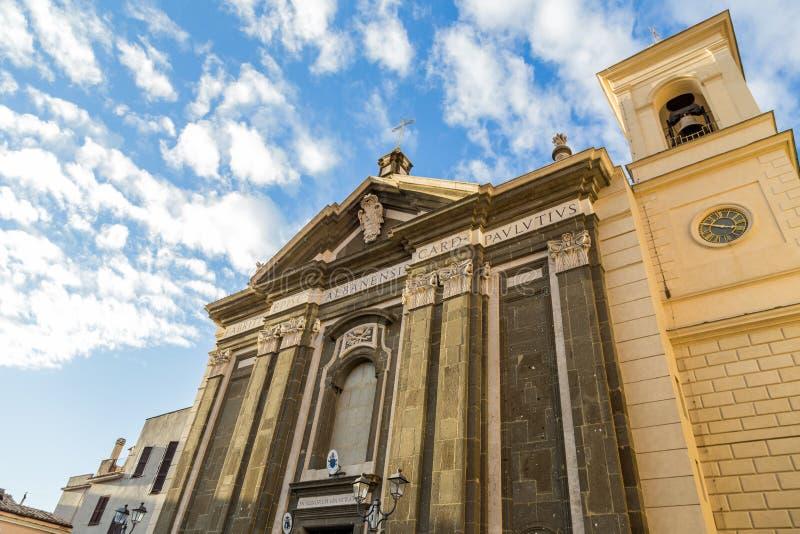Palazzo in Castelli Romani, Italia immagini stock libere da diritti