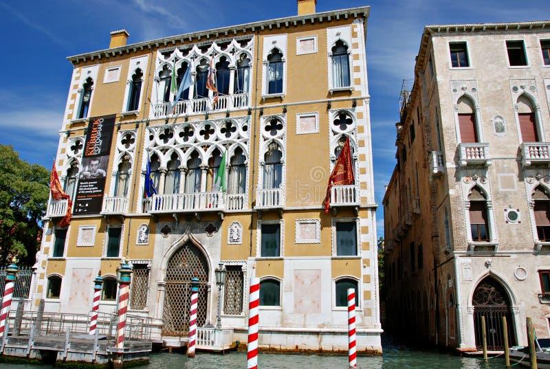Palazzo Cavalli-Franchetti royalty free stock photography
