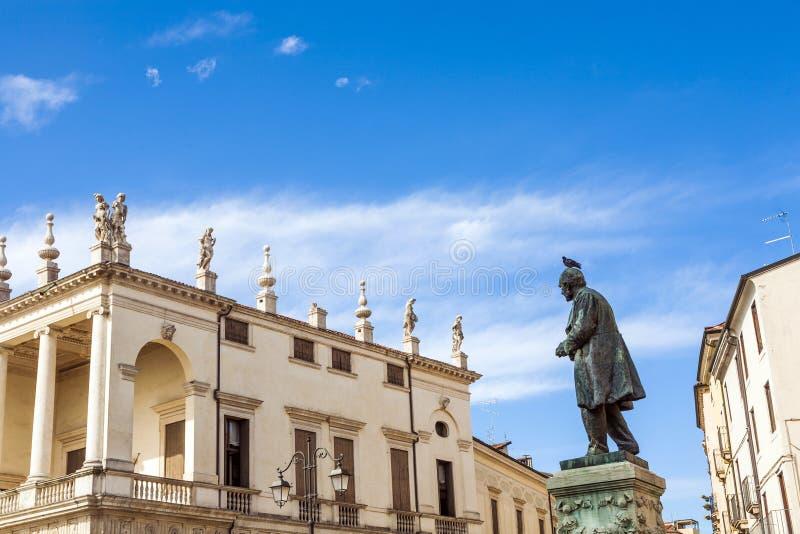 Palazzo Chiericati à Vicence photo stock