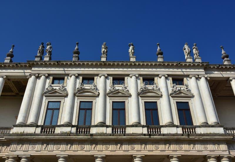 Palazzo Chiericati à Vicence photographie stock libre de droits