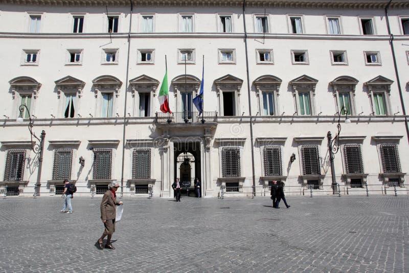 Palazzo Chigi In Rome Editorial Photo