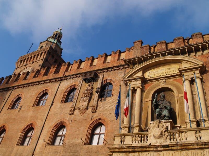 Palazzo Comunale royalty-vrije stock afbeeldingen