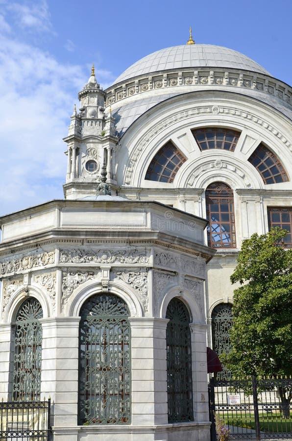 Palazzo Costantinopoli, Turchia di Dolmabahce fotografia stock