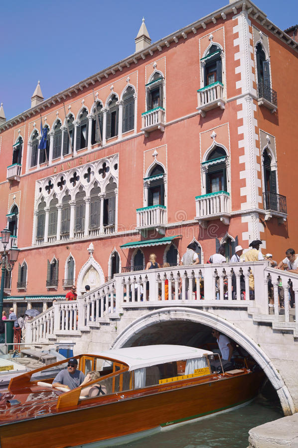 Palazzo Dandolo στη Βενετία στοκ φωτογραφία με δικαίωμα ελεύθερης χρήσης