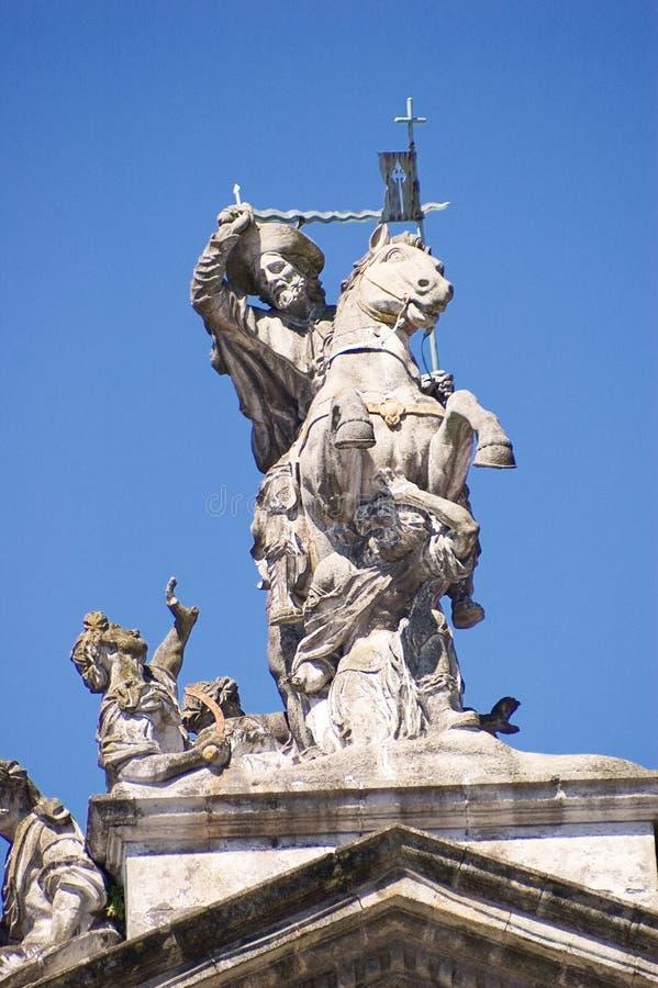 Palazzo de Raxoi i Santiago de Compostela royaltyfri bild