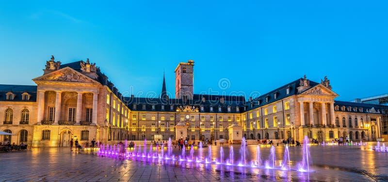 Palazzo dei duchi di Borgogna a Digione, Francia immagine stock libera da diritti