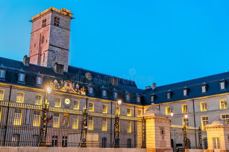 Palazzo dei duchi di Borgogna a Digione, Francia immagine stock