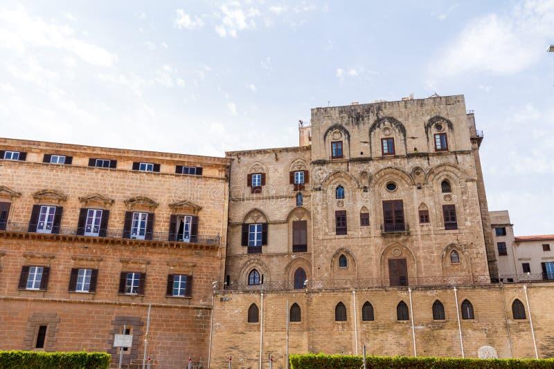 Palazzo dei Normanni in Palermo, Italy stock photos