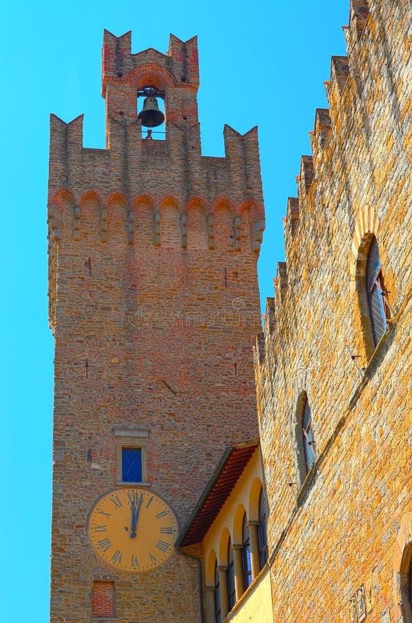 Palazzo Dei Priori foto de stock royalty free