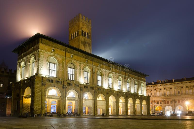 Palazzo del波德斯塔 免版税库存照片