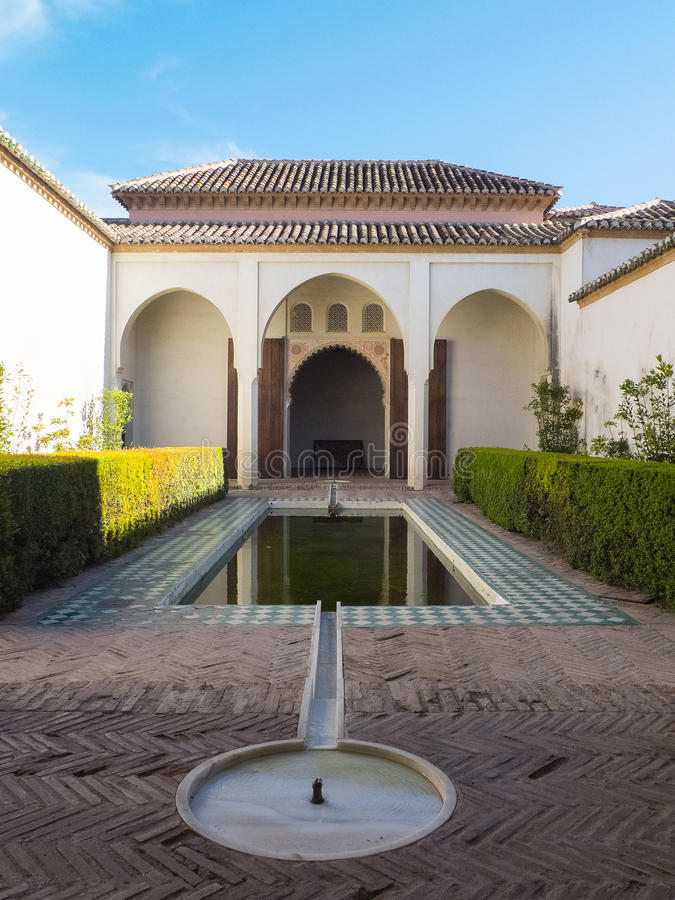 Download Palazzo Del Alcazaba A Malaga, Spagna Fotografia Stock - Immagine di lusso, antico: 56881902