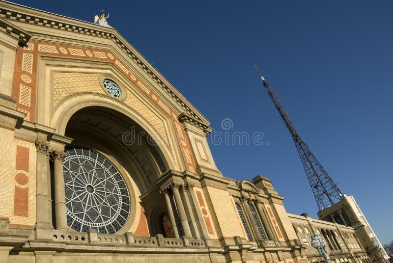 Palazzo del Alexandra fotografie stock libere da diritti