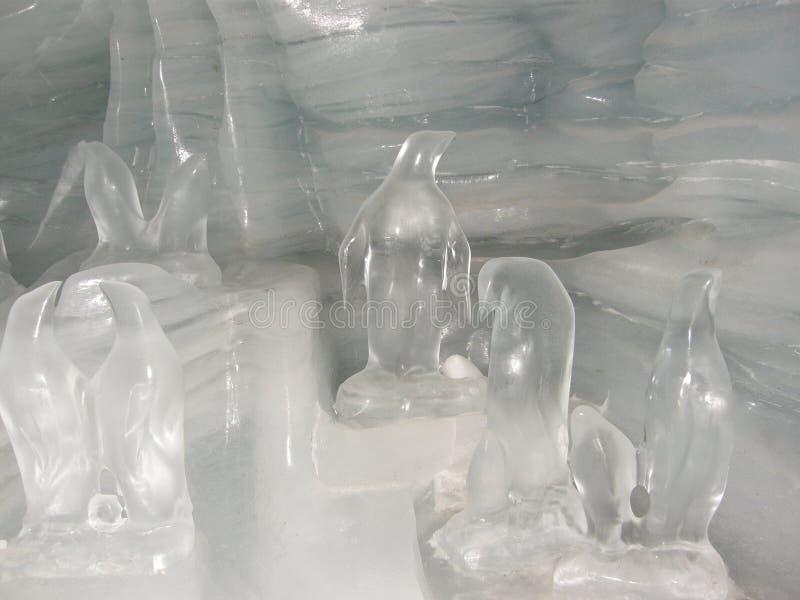 Palazzo del ghiaccio immagini stock libere da diritti