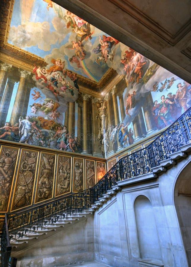 Palazzo del Hampton Court immagine stock libera da diritti