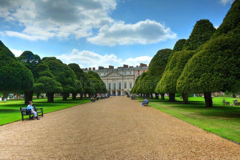 Palazzo del Hampton Court immagini stock libere da diritti