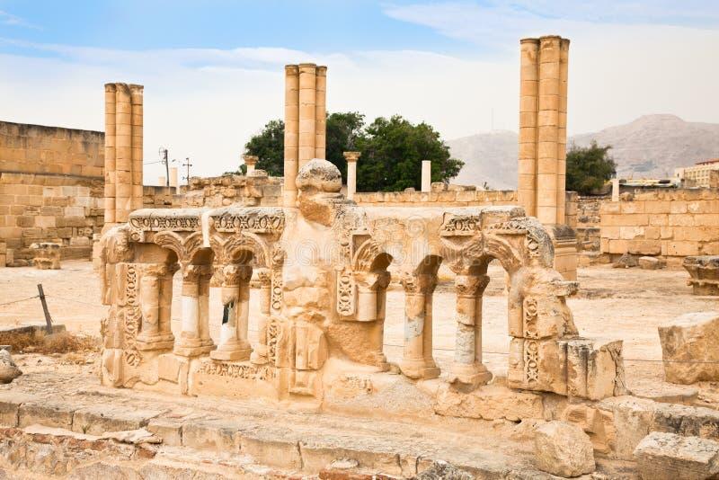 Palazzo del Hisham a Jericho. L'Israele immagini stock