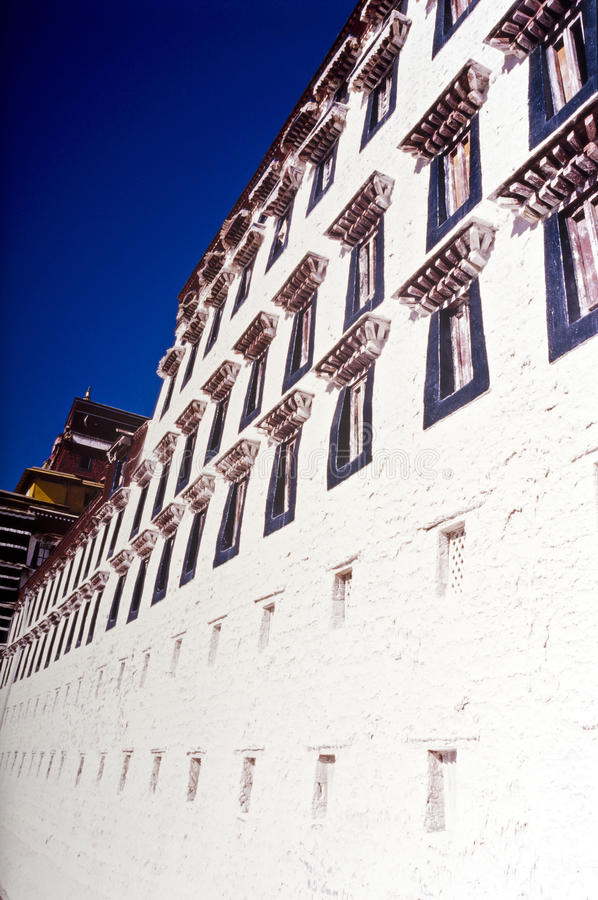 Palazzo del Potala Tibet immagini stock libere da diritti