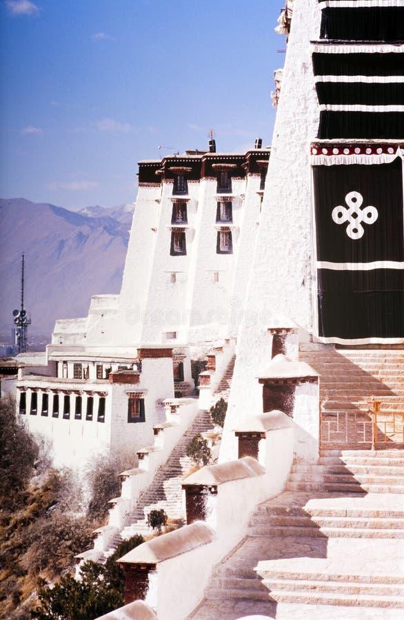 Palazzo del Potala Tibet fotografie stock