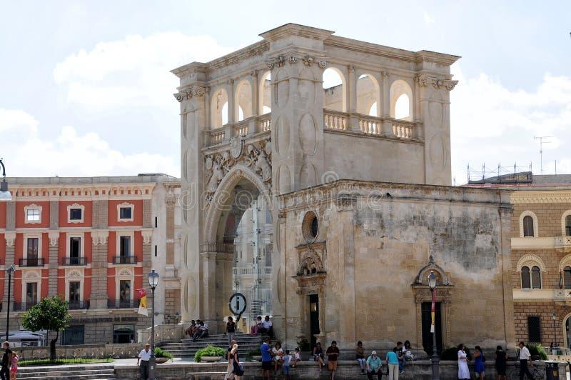 Palazzo Del Seggio zdjęcie stock