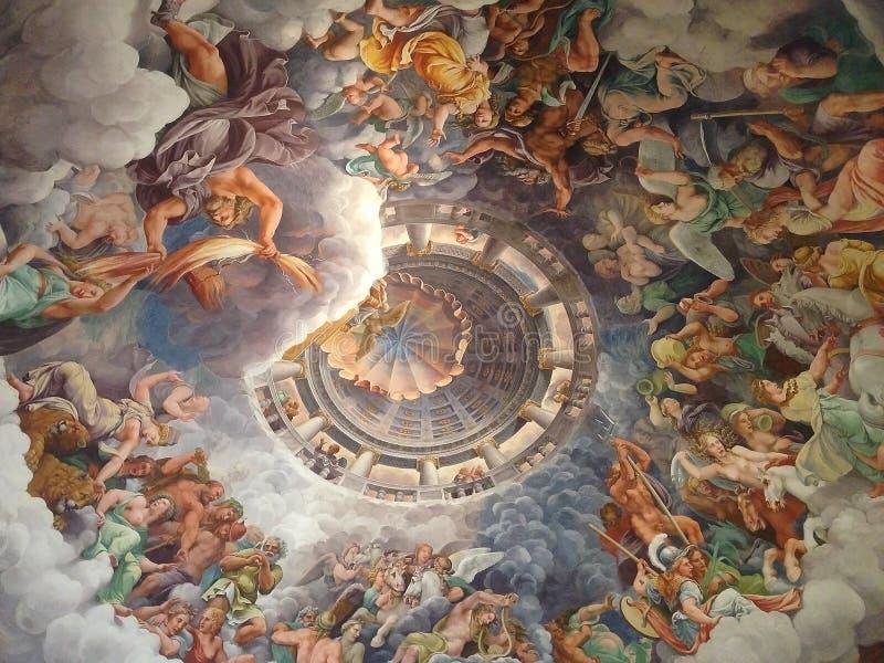 Palazzo Del Te, Mantua, Italien lizenzfreies stockfoto