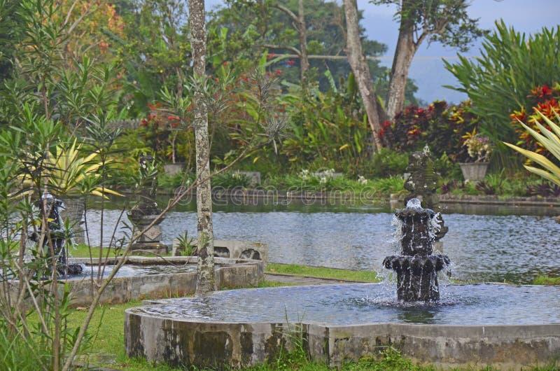 Palazzo dell'acqua di Tirta Gangga fotografia stock