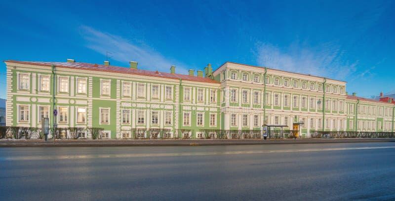 Palazzo dell'imperatore Pietro Romano fotografia stock libera da diritti