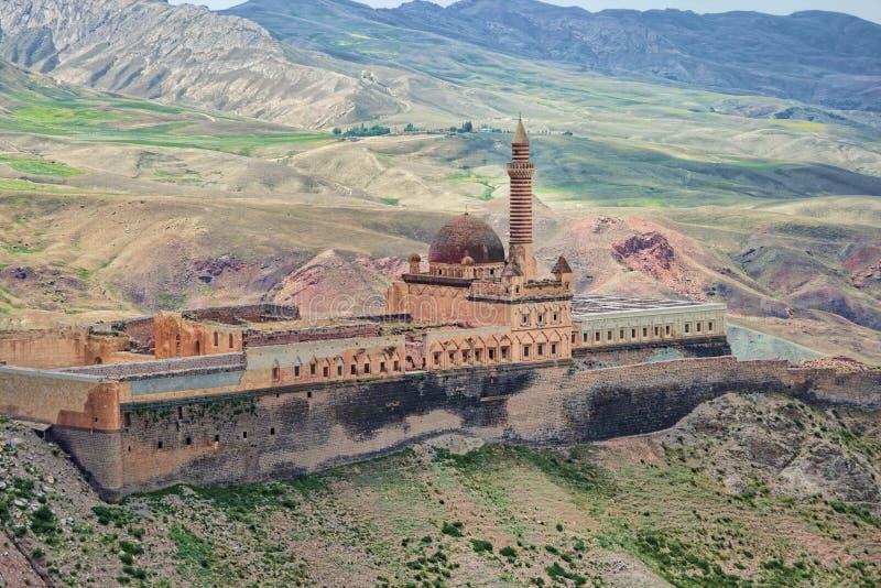Palazzo dell'ottomano di Pasha di Ishak fotografia stock