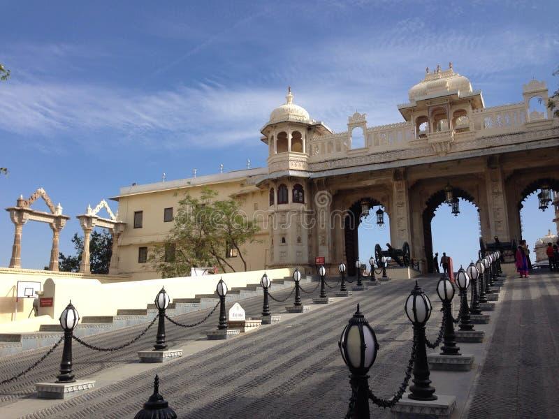 Palazzo della città, Udaipur, India fotografie stock