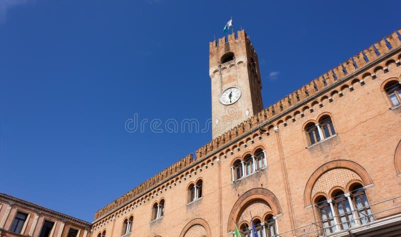 Palazzo della Prefettura w Treviso obraz stock