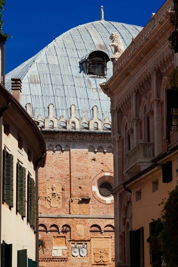 Palazzo Della Ragione à Padoue images libres de droits