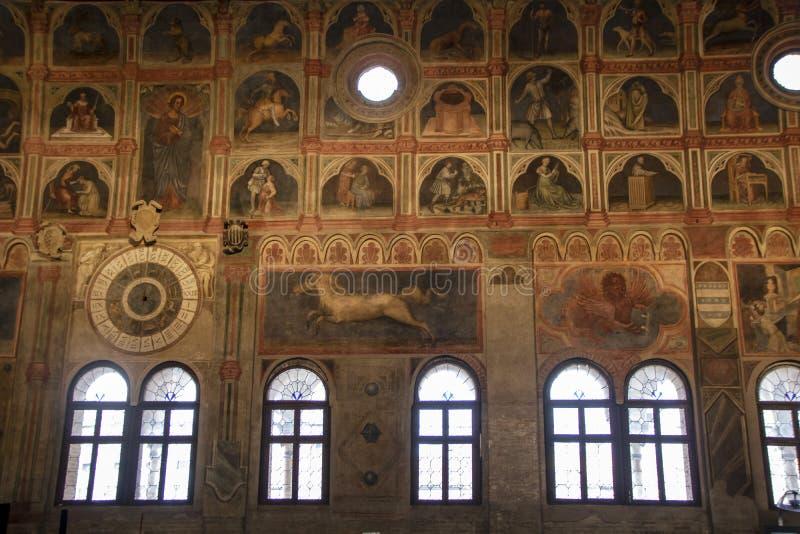 Palazzo-della Ragione stockbild