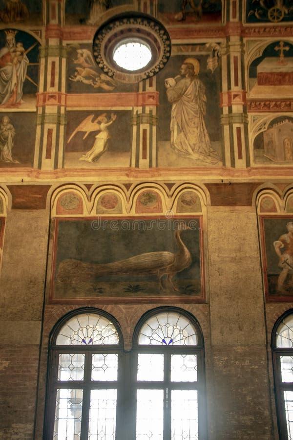 Palazzo-della Ragione stockfotos