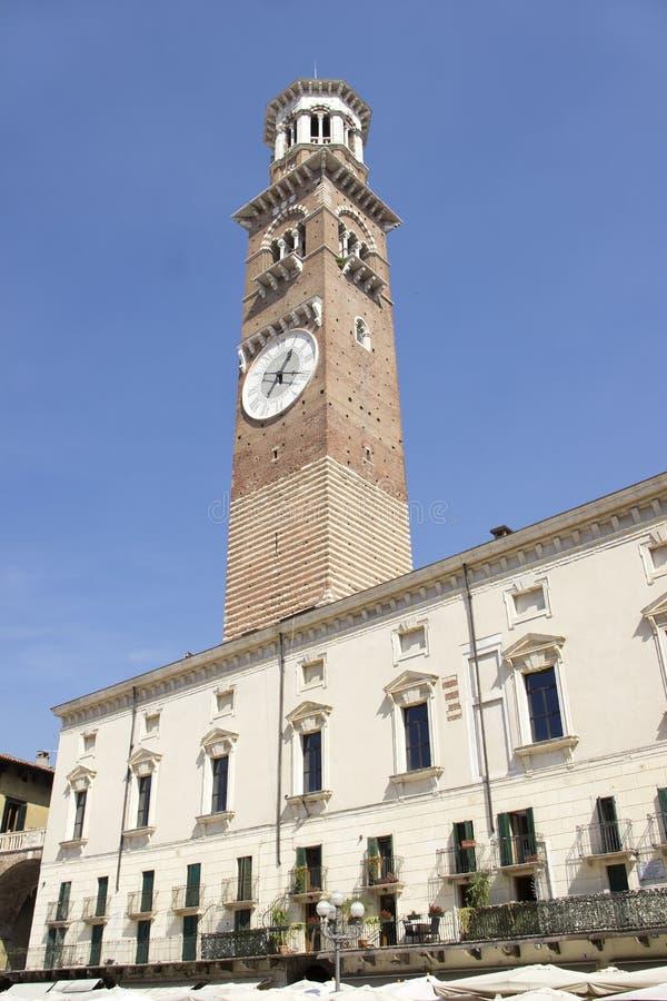 Palazzo Della Ragione in Verona lizenzfreie stockfotografie