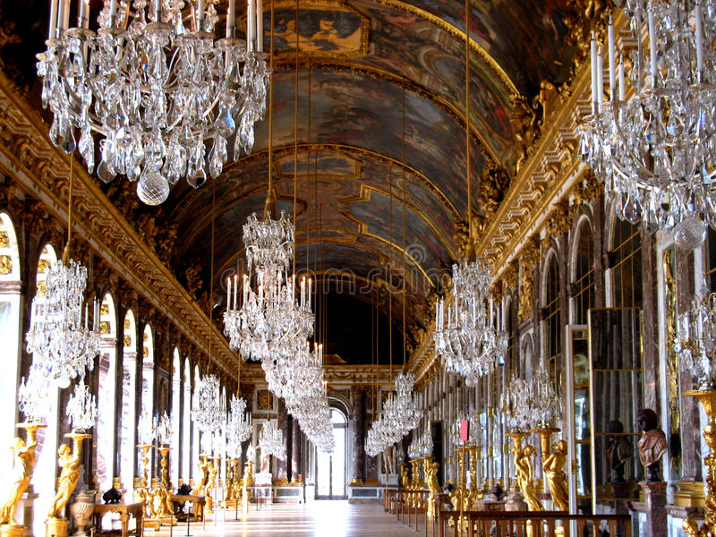 Palazzo della sosta di Versailles immagini stock libere da diritti