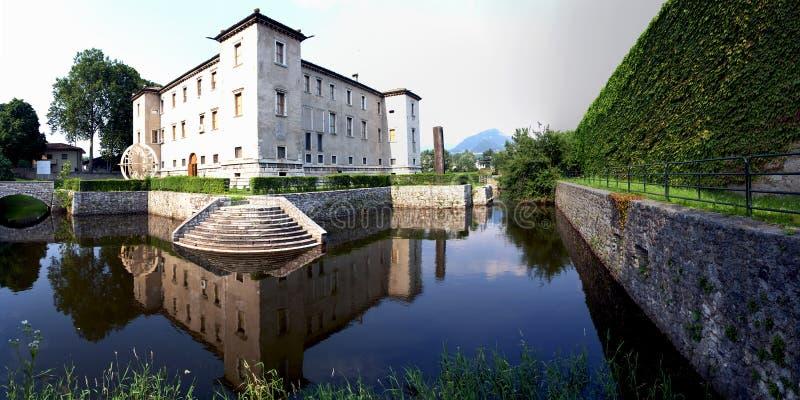 Palazzo delle albere 免版税库存照片