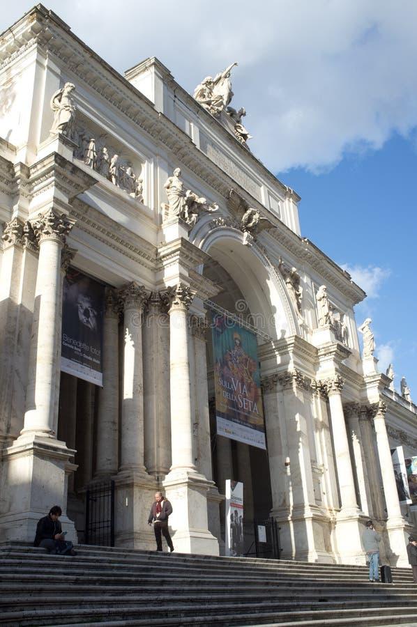 Download The Palazzo Delle Esposizioni In Rome Editorial Stock Image - Image of expo, city: 28792959