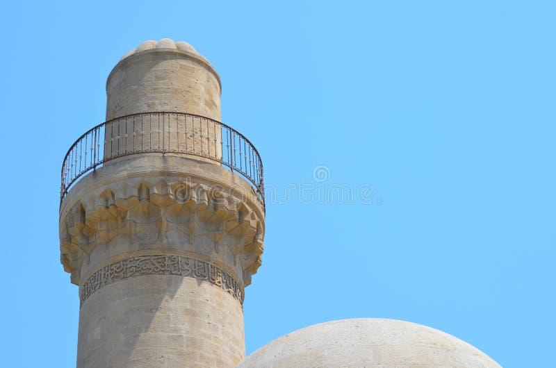 Palazzo dello Shirvanshahs nella vecchia città di Bacu, capitale dell'Azerbaigian immagini stock libere da diritti