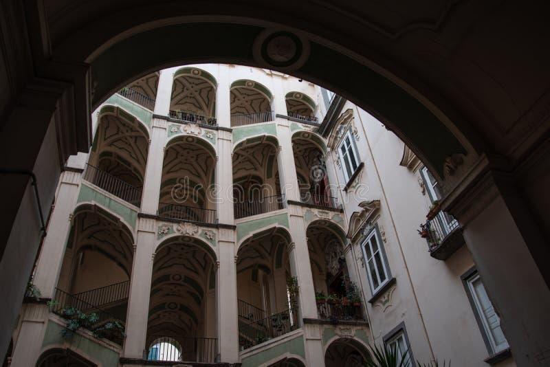 Palazzo dello Spagnuolo obraz royalty free