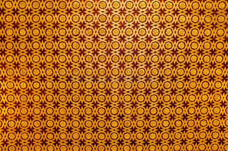 Palazzo di Alhambra, Granada Reticolo arabo fotografia stock libera da diritti