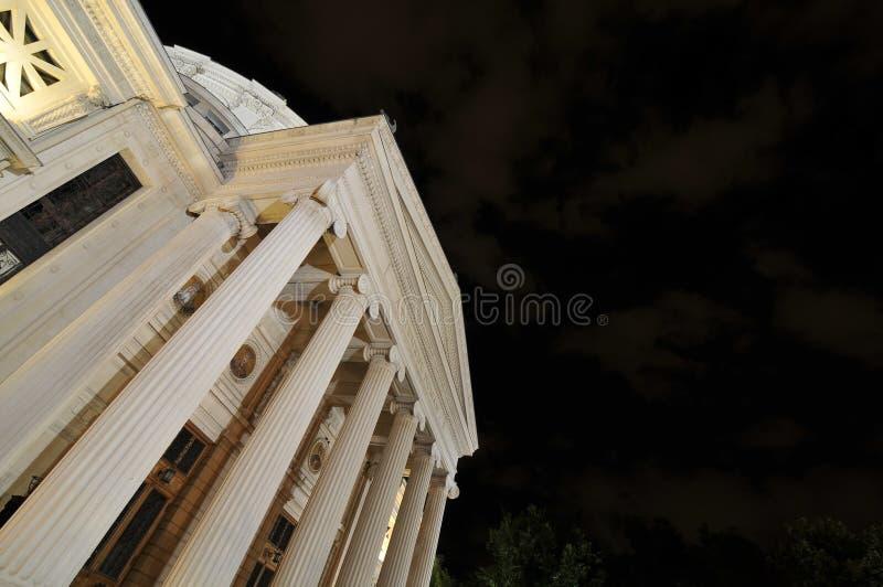 Palazzo di Athenee immagine stock libera da diritti