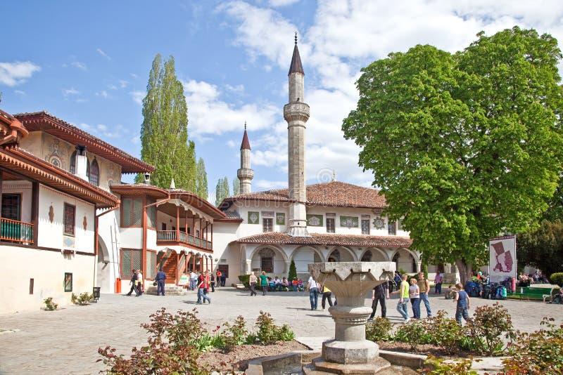 Palazzo di Bakhchisaray immagini stock