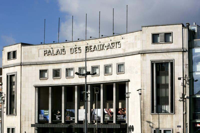 Palazzo di belle arti, Art Deco, Charleroi, Belgio fotografie stock